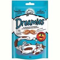 Recompense pentru pisici Somon, 60g, Dreamies