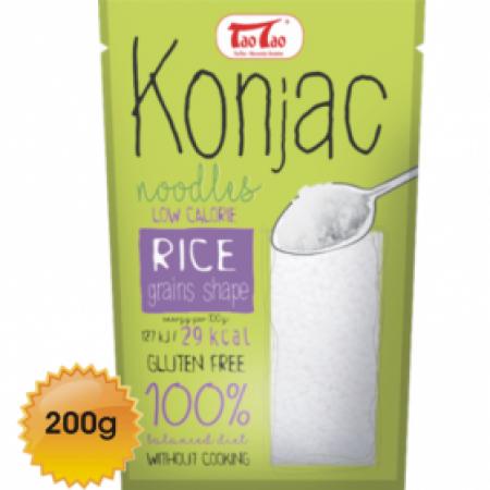 Paste Konjac cu boabe de orez Tao tao 200 g