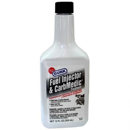Aditiv benzina pentru curatat injectoare si carburant Gunk 354 ml