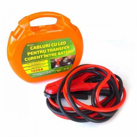Cabluri pornire auto cu led intergrat 1000A