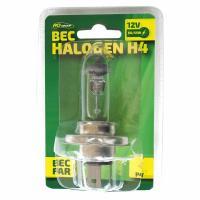 Bec auto cu halogen H4  12V  55W  P43T 1buc
