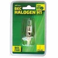 Bec auto cu halogen pentru far H1  12V  55W  P14s   1buc