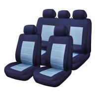 Huse scaune auto Alfa Romeo 164 blue jeans 9 bucati
