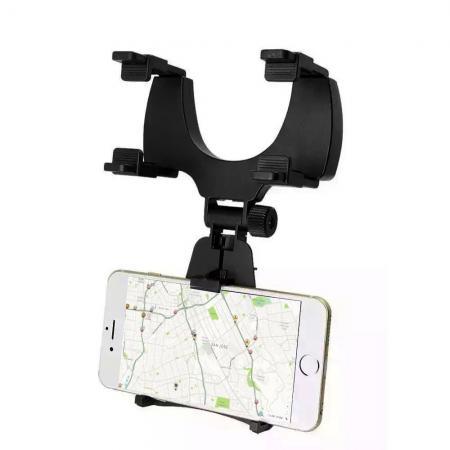 Suport telefon auto cu oglinda retrovizoare