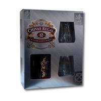 Pachet chivas regal scotch whisky 12 ani + 2 pahare