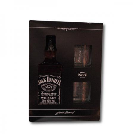 Pachet jack daniels + 2 pahare