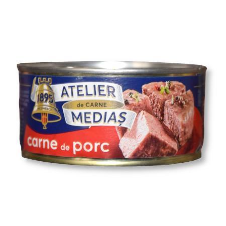 Bax conserva carne de porc 300g Atelierul de carne Medias