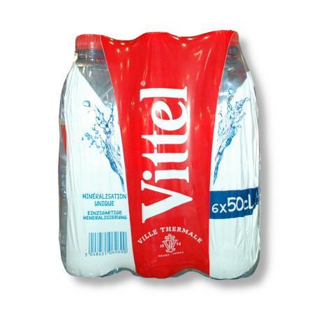bax apa minerala vittel 6 x 0.50 ml