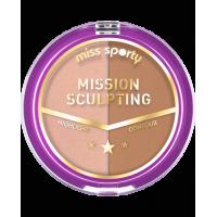 Fard de fata miss sporty mission sculpting powder 002 brunette