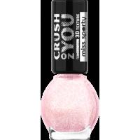 Oja de unghii miss sporty cu textura 3d 064 galaxie rosie