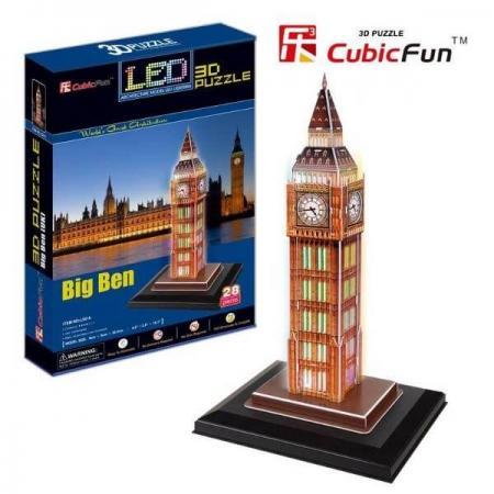 Big Ben Londra Anglia - Puzzle 3D - 28 de piese