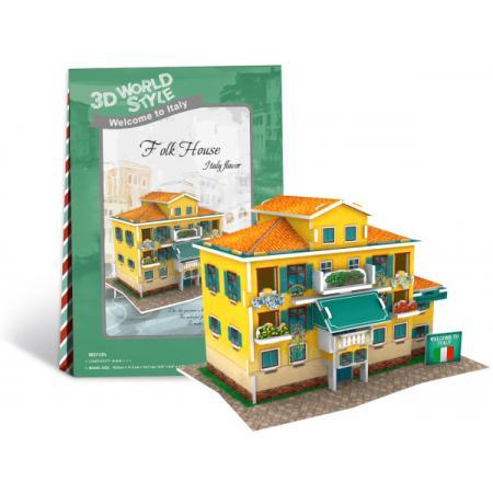 Casa Italia - Puzzle 3D - 26 de piese