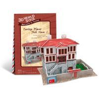 Casa turceasca model 2 - Puzzle 3D - 18 piese