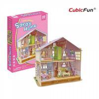 Casa lui Sara - Puzzle 3D - 96 de piese