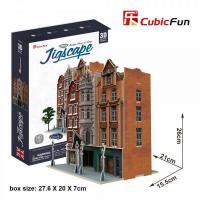 Colectia Jigscape - Casa de licitatii - Puzzle 3D - 93 de piese
