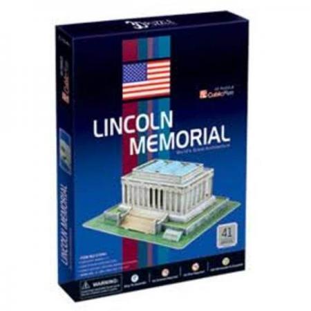 Monumentul lui Lincoln Washington SUA - Puzzle 3D - 41 de piese