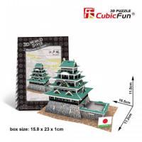 Castelul Edo - Puzzle 3D - 45 de piese