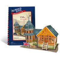 Vila Anglia - Puzzle 3D - 31 de piese