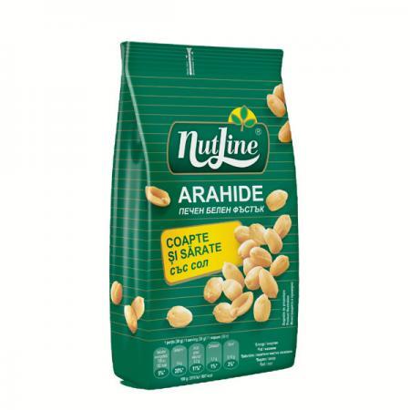 Arahide nutline coapte si sarate 300 g
