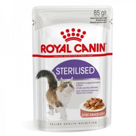 Hrana umeda pentru pisici Royal Canin Sterilised Gravy 85 gr