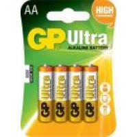 Baterie alcalina R6 (AA) 4 buc/blister Ultra GP, pret per buc