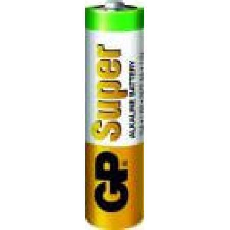 Baterie alcalina R6 (AA) infoliat Super GP, pret per buc