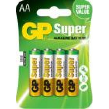 Baterie alcalina R6 (AA) 4 buc/blister Super, pret per buc