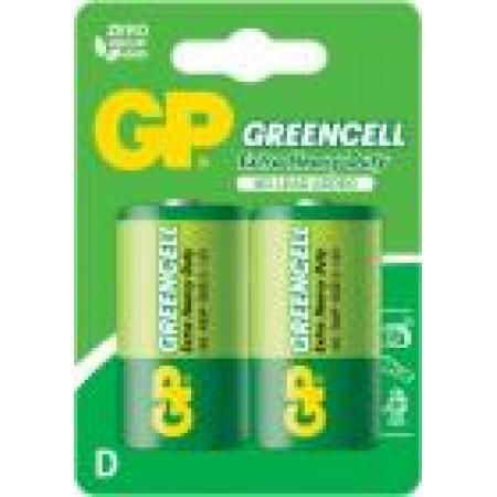Baterie zinc R20 (D) 2 buc/blister Greencell, pret per buc