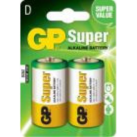 Baterie alcalina R20  2 buc/blister Super, pret per buc
