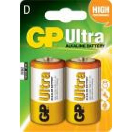 Baterie alcalina R20 2 buc/blister Ultra GP, pret per buc