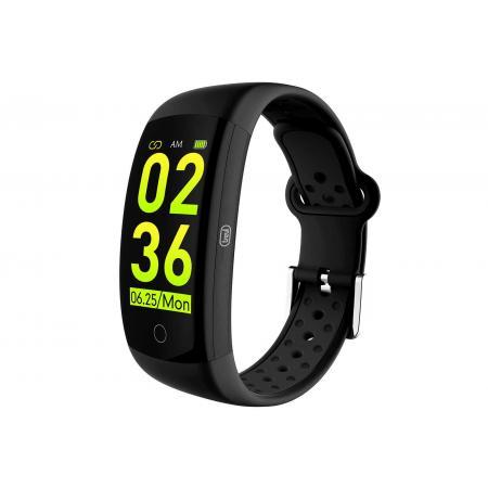 Bratara fitness T-FIT 250 GPS, negru, puls, tensiune, Trevi