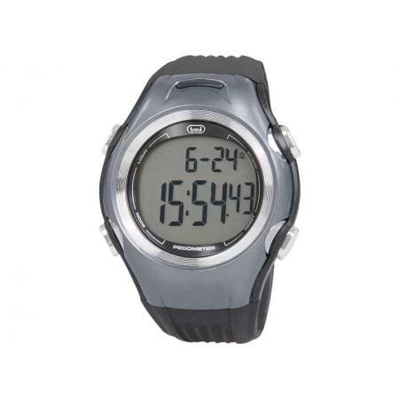 Ceas de mana digital SF 120, pedometru, sensor 3D, negru, Trevi