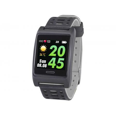 Bratara fitness T-FIT 280 GPS, negru/gri, puls, tensiune, Trevi